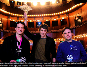 Atanas Valkov is the winner of the BERLINALE 7th BTC VW SCORE COMPETITION