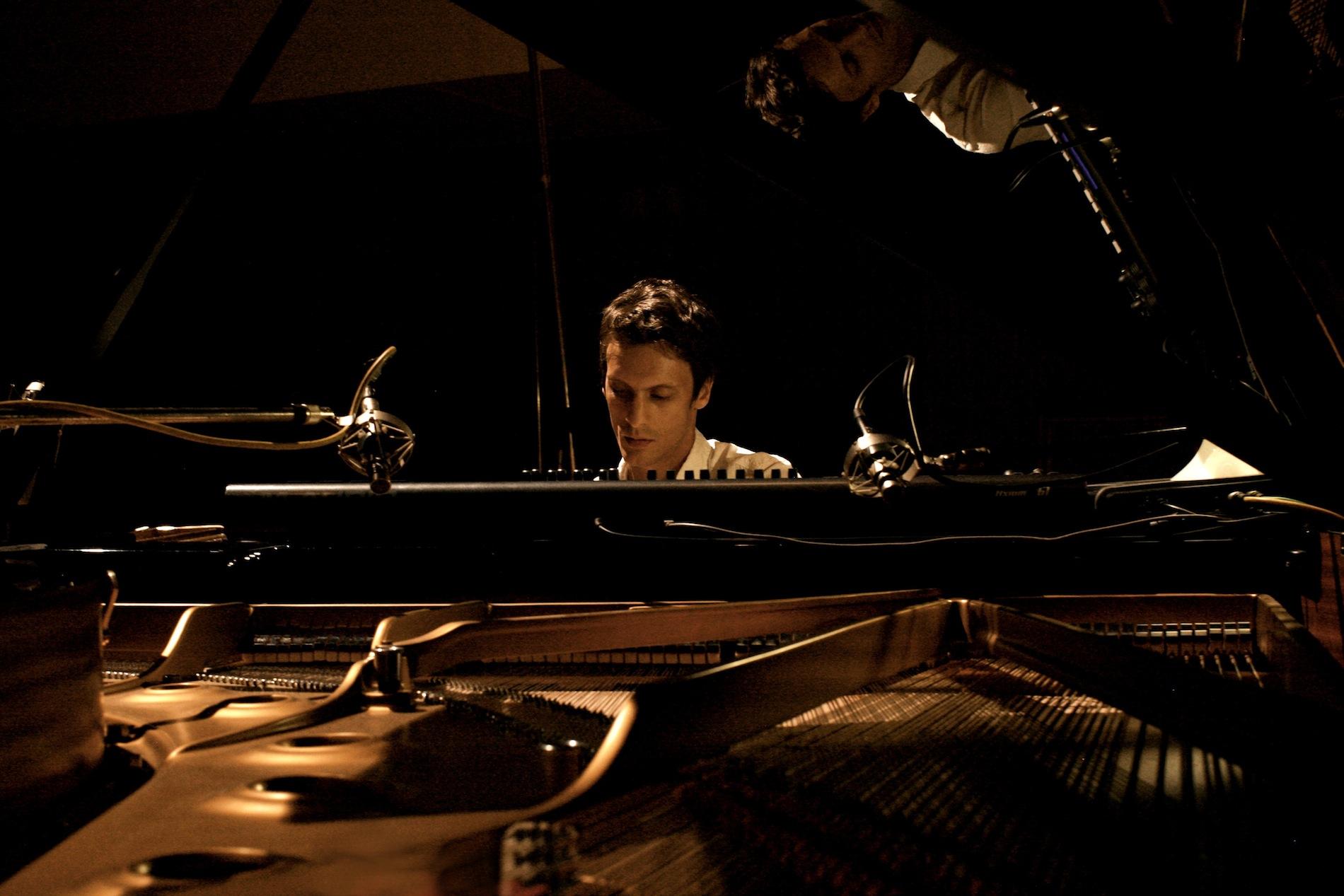 Transoriental recording session