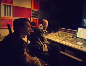 Atanas Valkov with Tomek Baginski mixing Ambition @ DreamSound