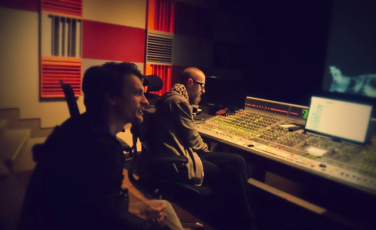 Atanas Valkov with Tomek Baginski mixing Ambition @ DreamSound