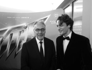 Atanas Valkov with Maestro Howard Shore