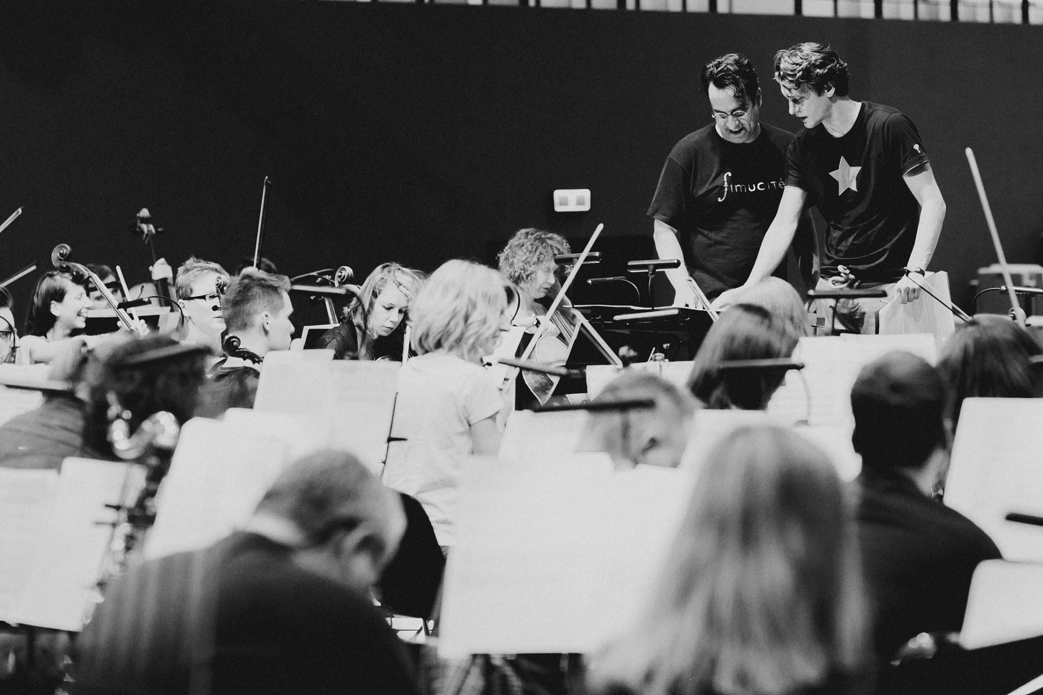 Atanas Valkov rehearsal